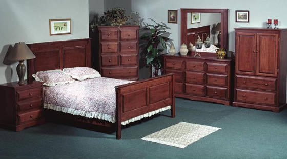 all of our bedroom furniture is manufactured in canada and is 100